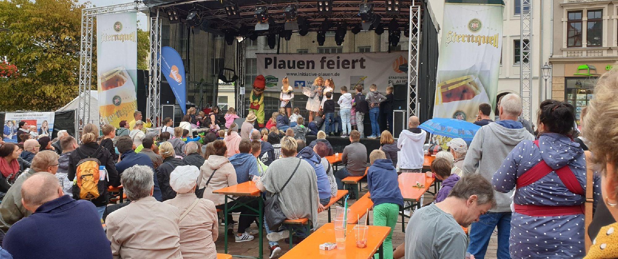 Bühnenprogramm Plauener Frühling