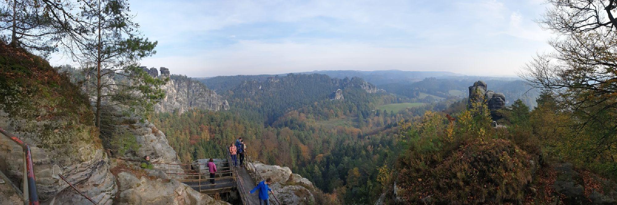 Aussicht Sächsische Schweiz
