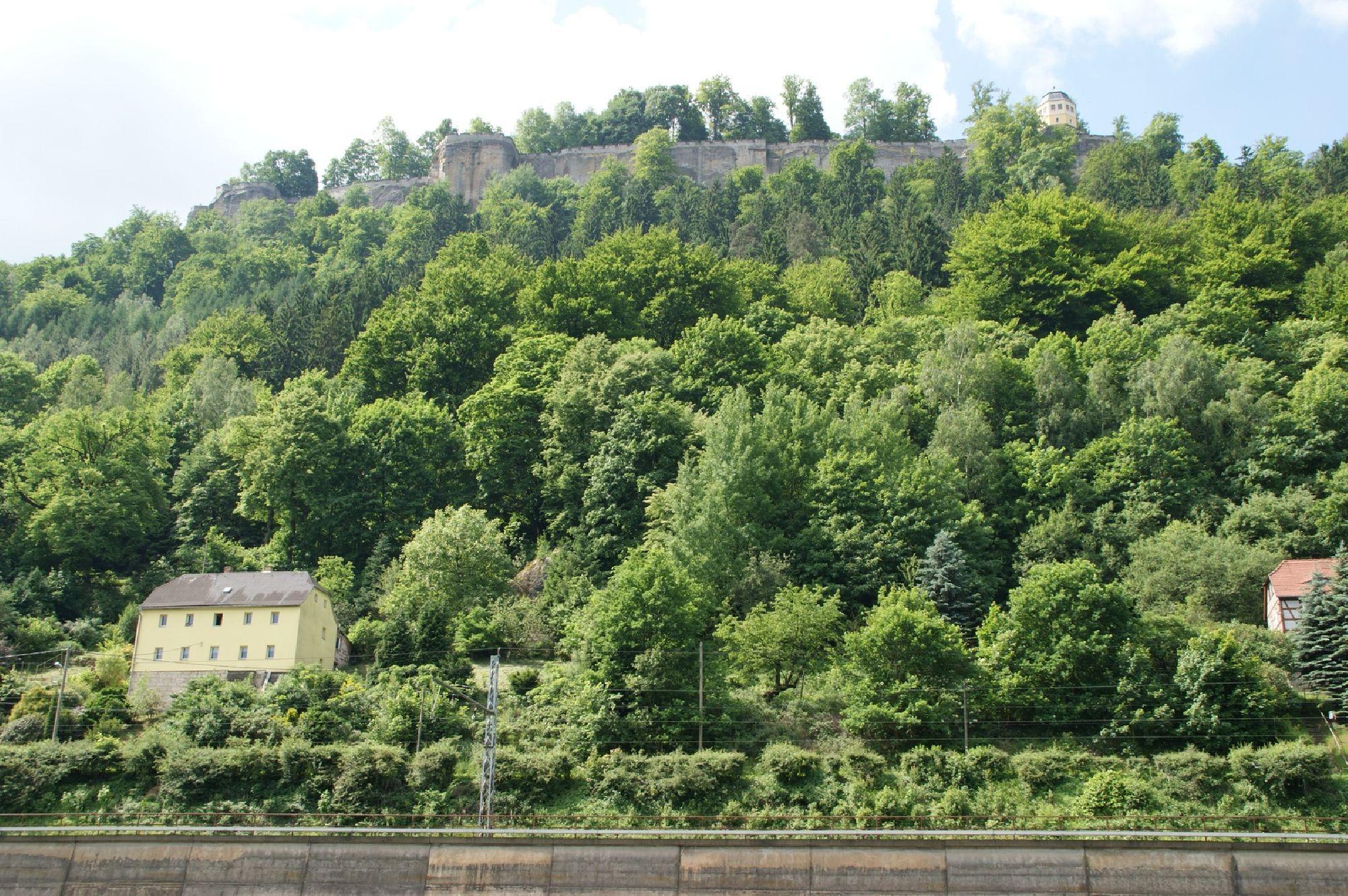 Aussicht zum Königstein