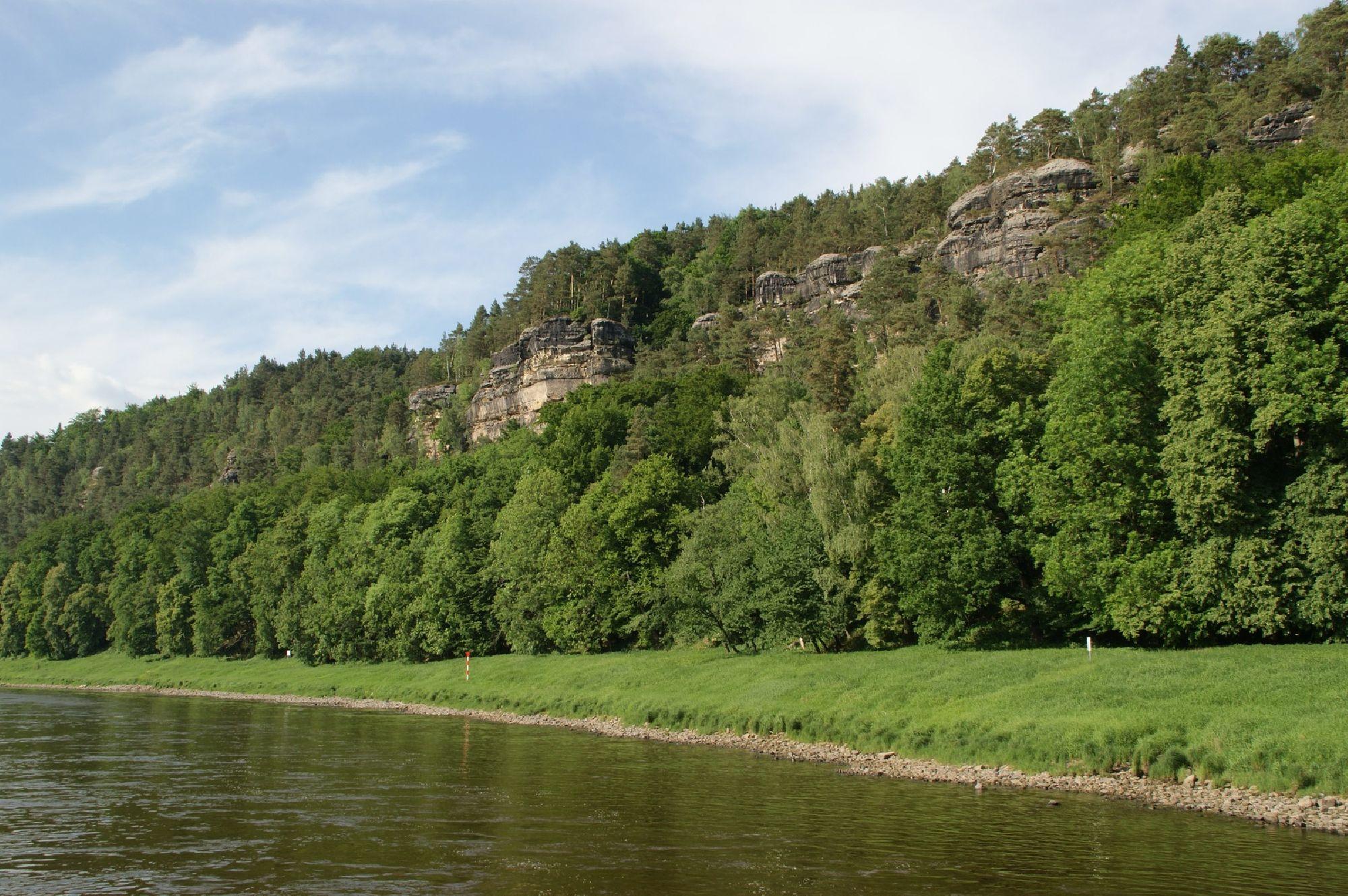 Felsformationen Sächsische Schweiz