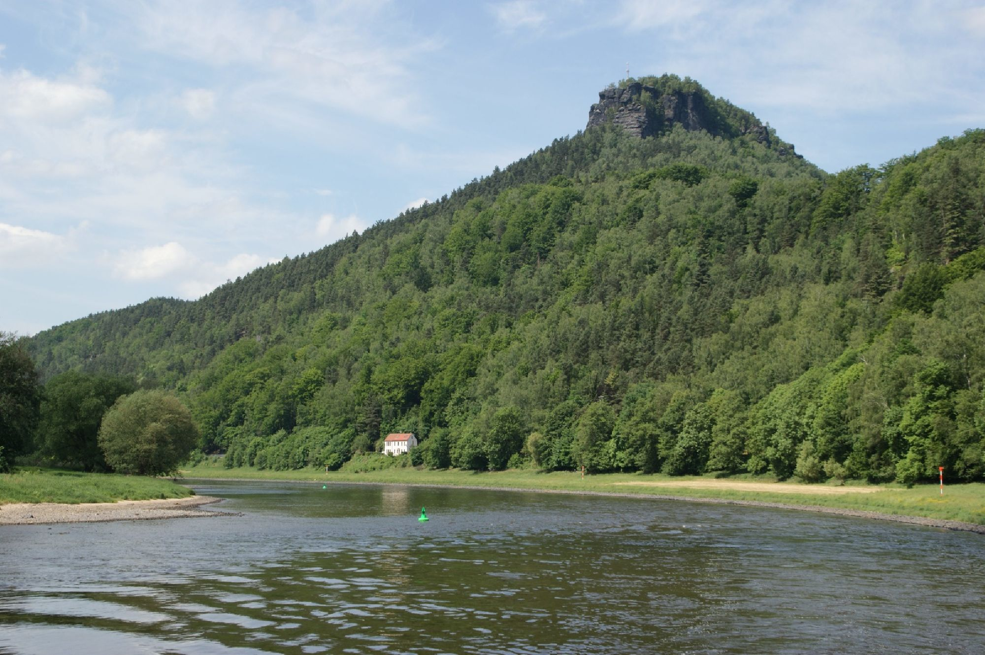 Landschaft im Osterzgebirge