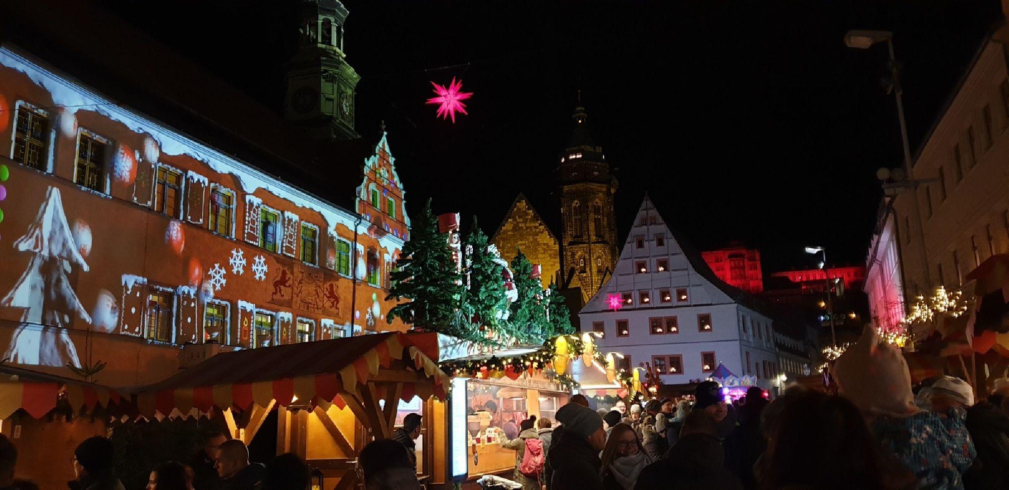 Weihnachtsmarkt in Pirna